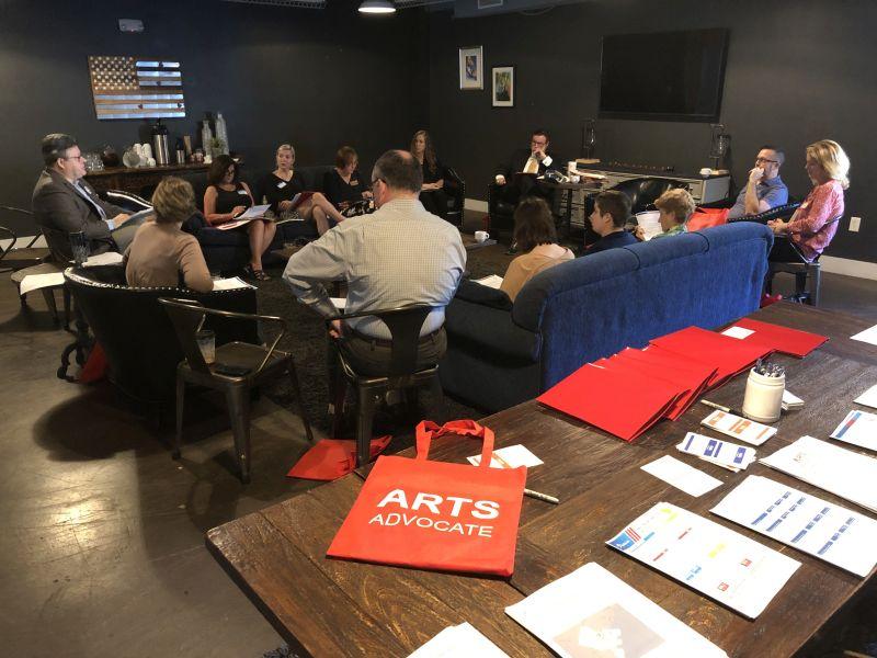 Savannah arts advocates meeting